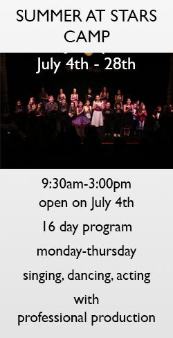 Wendy Taubman's Stars of Tomorrow Theatre Workshop