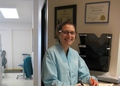 Dr. Moeller in the Astoria Office