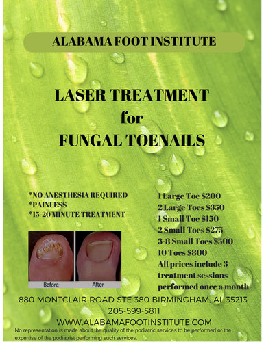 Birmingham Podiatrist | Birmingham Laser & Stem Cell  | AL | Alabama Foot Institute |