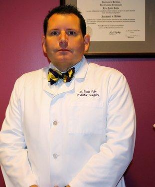 Birmingham Podiatrist | Birmingham About Dr. Todd Falls | AL | Alabama Foot Institute |