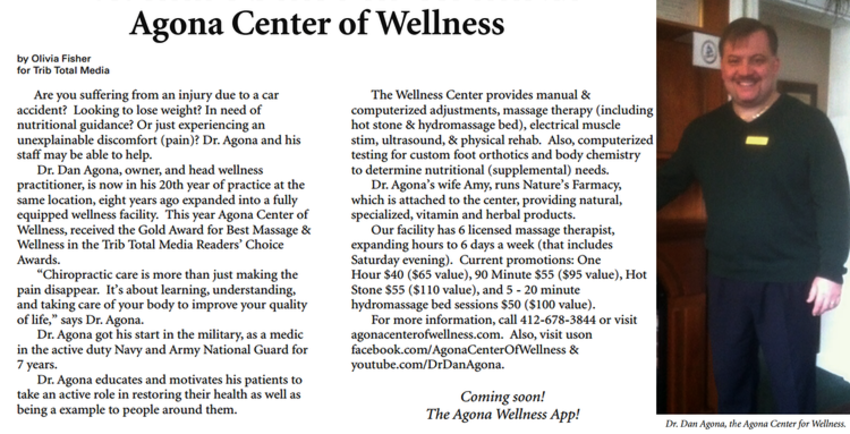 White Oak Chiropractor | White Oak chiropractic News & Activities |  PA |