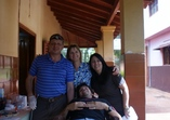 Our day trip to remote area where we were treating poor Guarani indian children