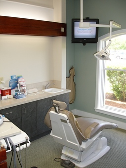 Hygiene treatment room