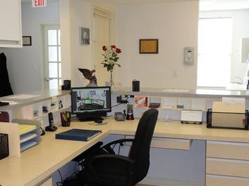 Front Desk Area