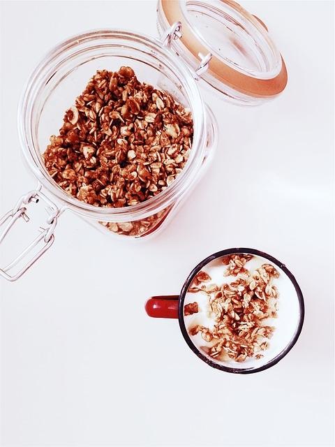 Healthy Cereal Recipe Granola Dr. B