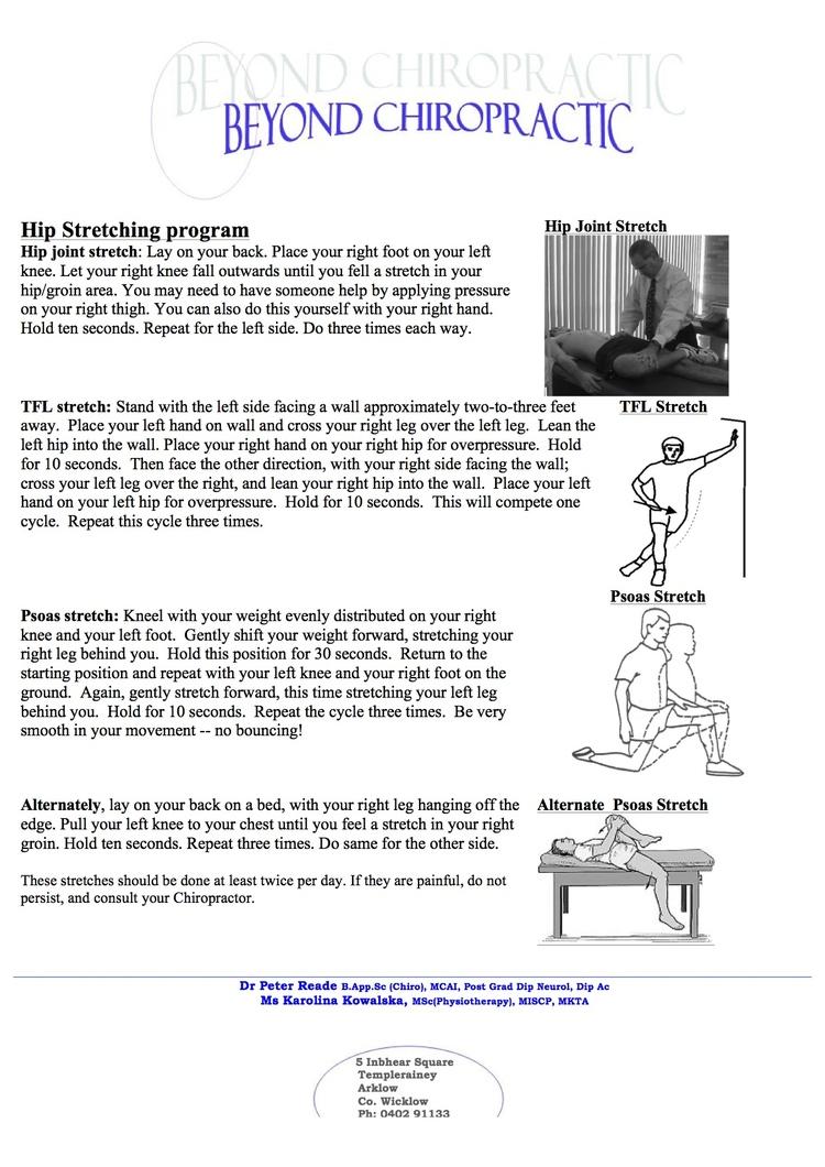 Arklow Chiropractor   Arklow chiropractic Hip      