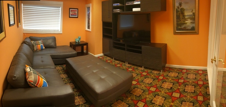 image of waiting room for family dentist in woodstock ga dental care of woodstock