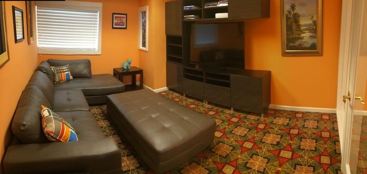 image of waiting room for family dentist in woodstock ga dental care of woodstock