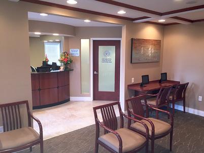 Ipad station in waiting room