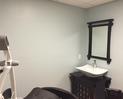Zen room sink