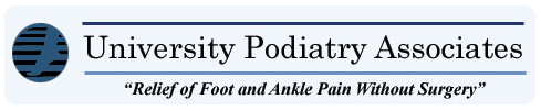 """University Podiatry Associates - """"Relief of Foot and Ankle Pain Without Surgery"""""""