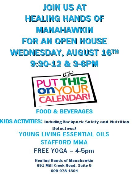 Manahawkin Chiropractor   Manahawkin chiropractic Special Events    NJ  
