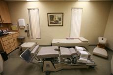 Chiropractic Adjustment room