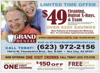 Sun City Dentist | Dentist in Sun City |  Dr. Matthew Wessel | Grand Dental Care | AZ