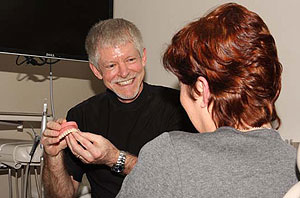 Restore your teeth with dental implants.
