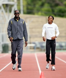 Olympic Sprinters Ato Stephens & Cydonie Mothersill (3 time)