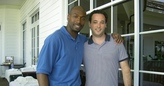 Dr. Cooper wtih Miami Dolphins CB Sam Madison
