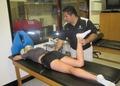 Barry University athletic training room