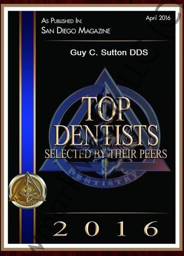 San Diego Dentist, Dr. Guy Sutton, Cosmetic dentistry, CA