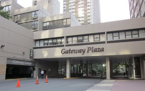 Entrance to Building Complex