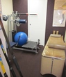 Therapy and Exercise Room (looking into massage room)