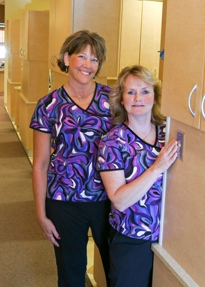 Amazing Assistants, Nancy and Pam