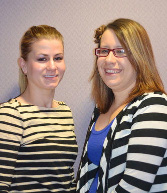 Chelsea Cormier  and Meghan Sears-Office Managers