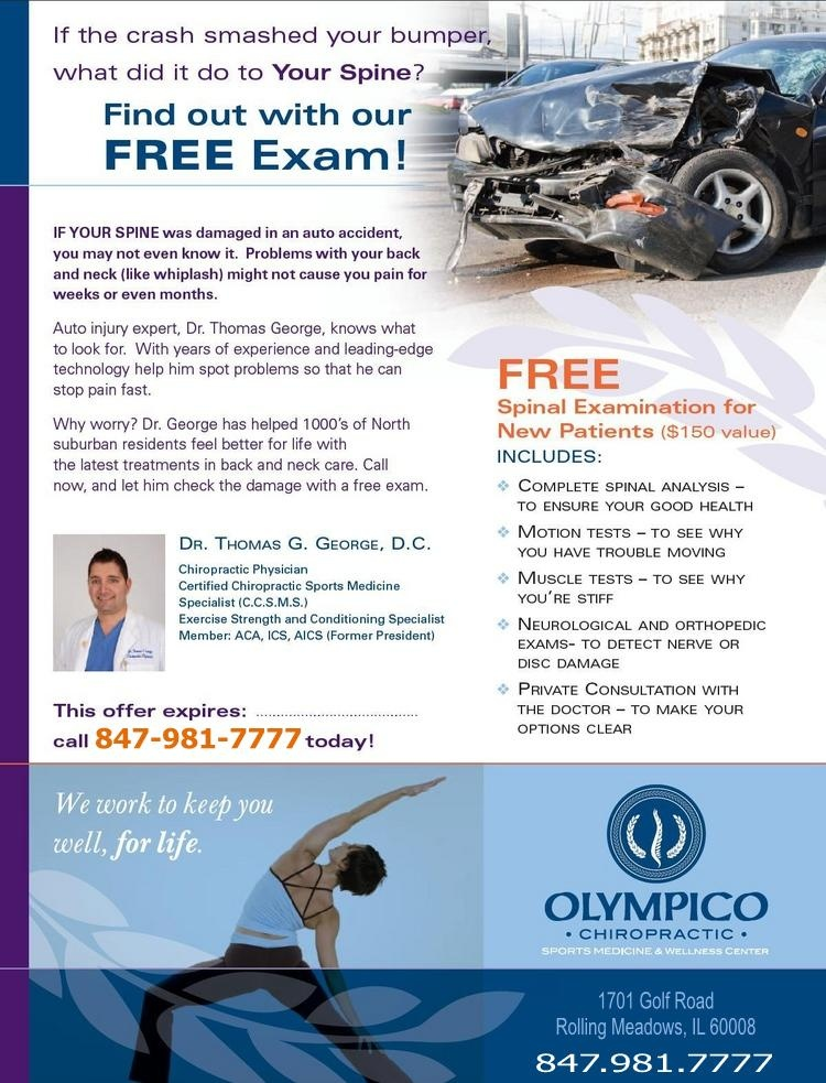 Rolling Meadows Chiropractor   Rolling Meadows chiropractic Auto Accident    IL  