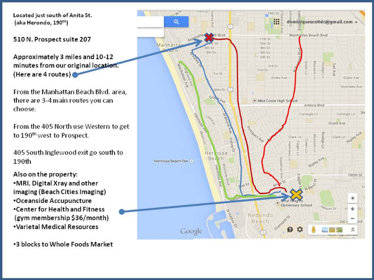 Redondo Beach Chiropractor | Redondo Beach chiropractic Directions |  CA |