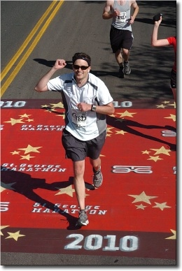 Larsen completes 1st Marathon