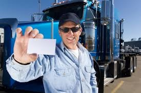 Small truck driver n card