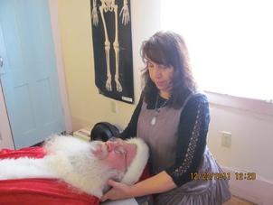 Helping Santa take care of himself