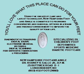 Londonderry Podiatrist | Londonderry About Us | NH | New Hampshire Foot and Ankle |