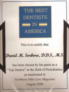 <p>David M. Sorboro D.D.S., M.S.</p> in North Olmsted OH