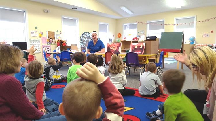 national childrens dental health month at school