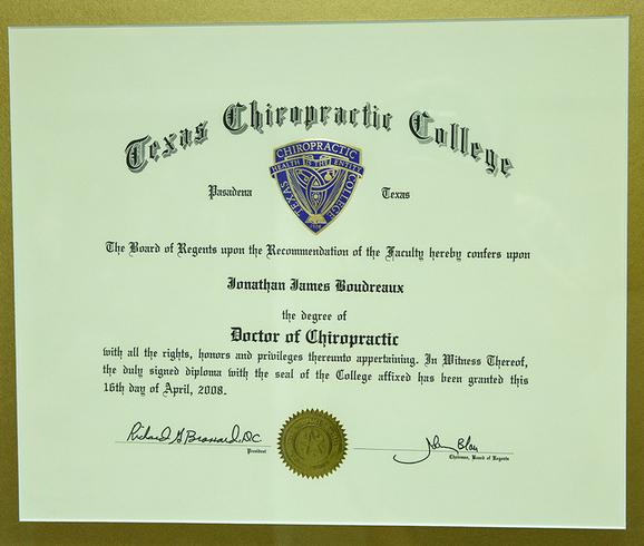 Chiropractic Diploma