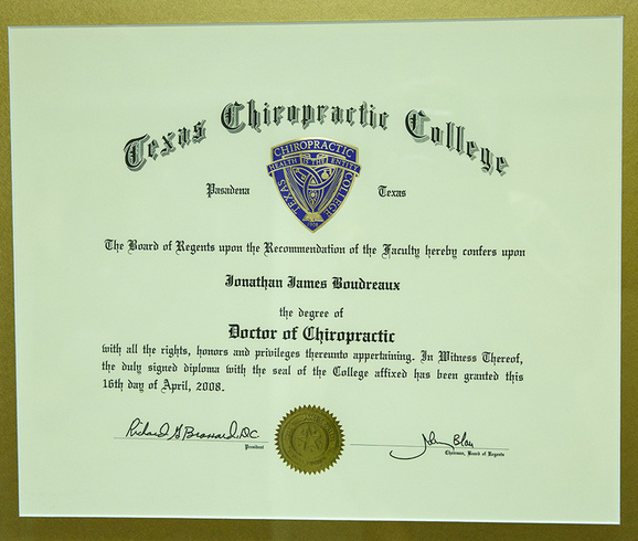 Chiropractic Diploma