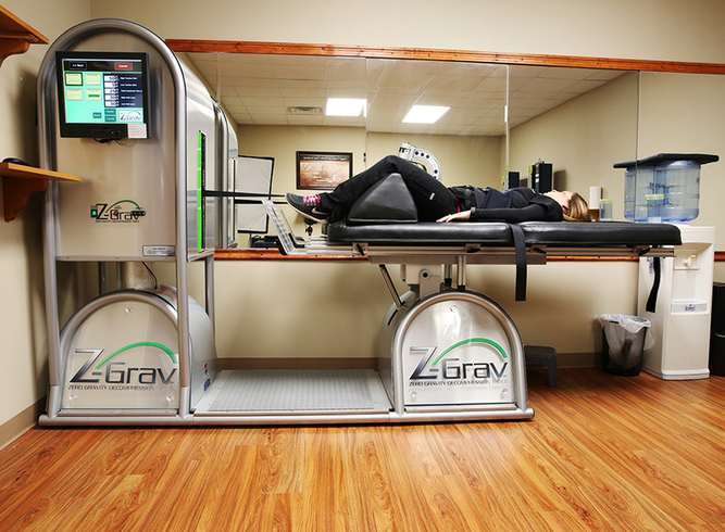 Zero Gravity Spinal Decompression Table