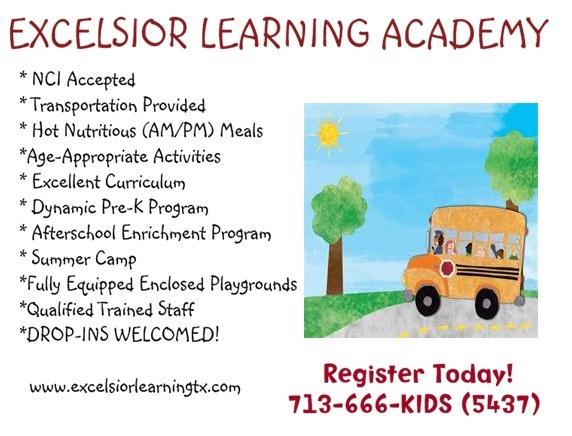 Houston Day Care / Pre-School | Houston Child Care | Meyer Park Child Care | Meyerland NCI