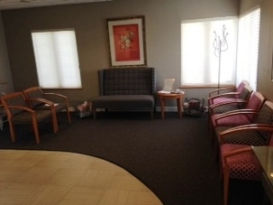Our updated waiting room