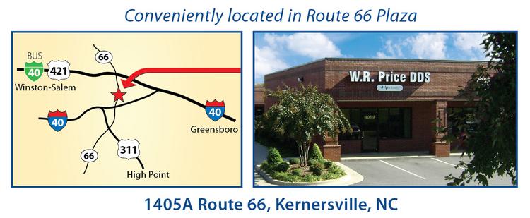 Winston-Salem Affordable Dentures Practice Information, NC
