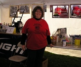 Debby selling prize tickets!