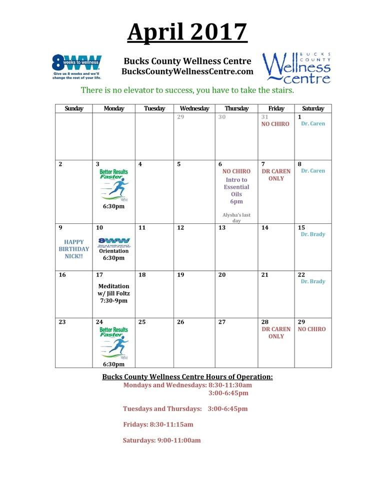18901 Chiropractor   18901 chiropractic Office Calendar    PA  