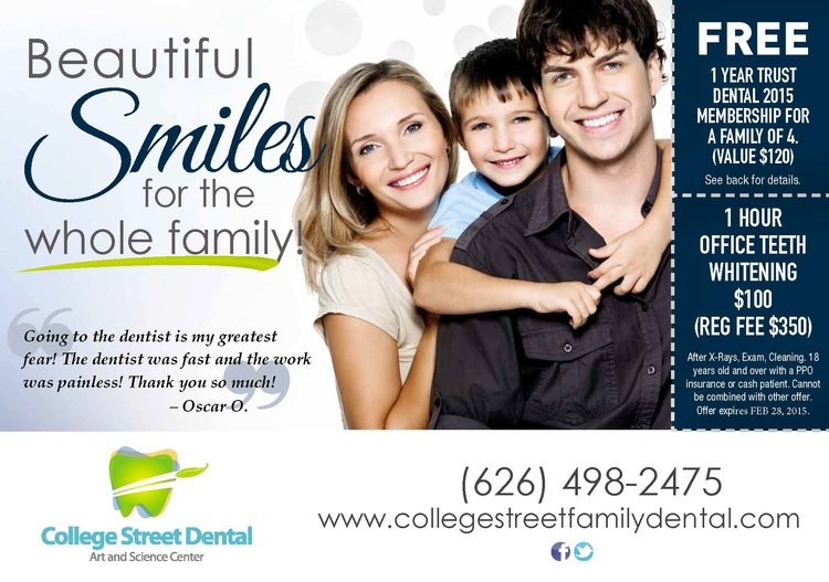 College Street Family Dental in Covina CA