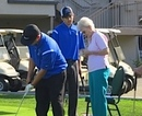 Competition was stiff in the putting contest