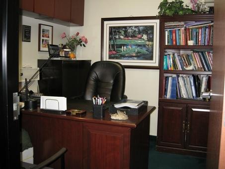 Private consultation area