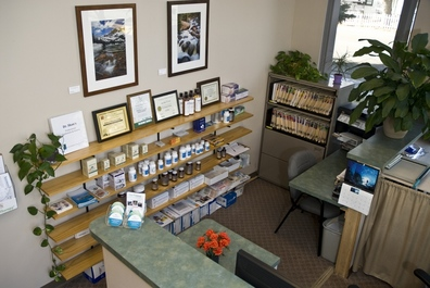 Our Front Desk & Natural Pharmacy